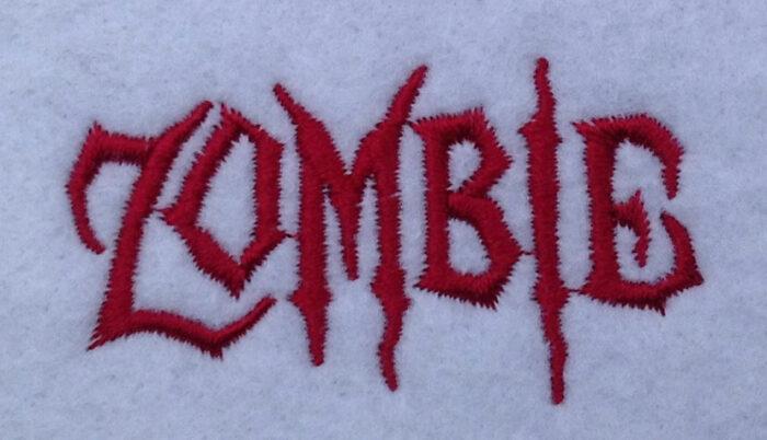 Zombie 15mm Font