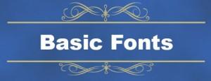 basic fonts icon