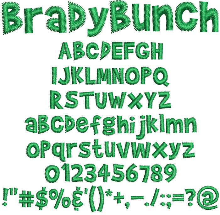 Brady Bunch Font