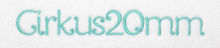 Cirkus 20mm Font