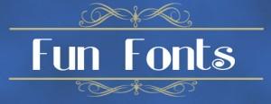 fun fonts icon