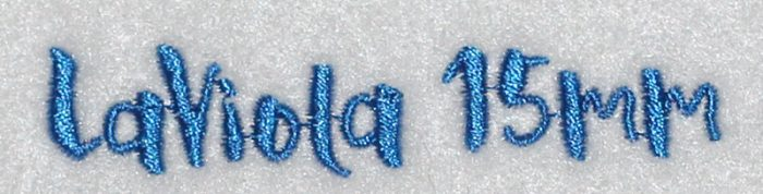 LaViola 15mm Font