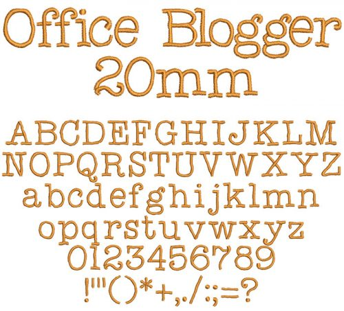 office blogger keyboard font letters
