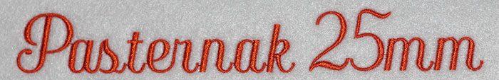 Pasternak 25mm Font