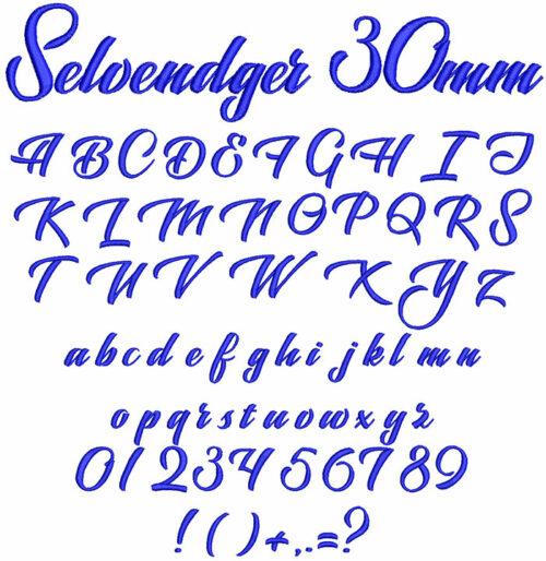 slevedger kyeboard font letters