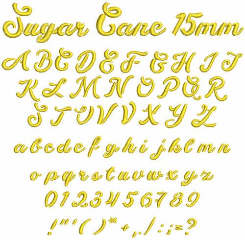 sugar cane keyboard font lettering