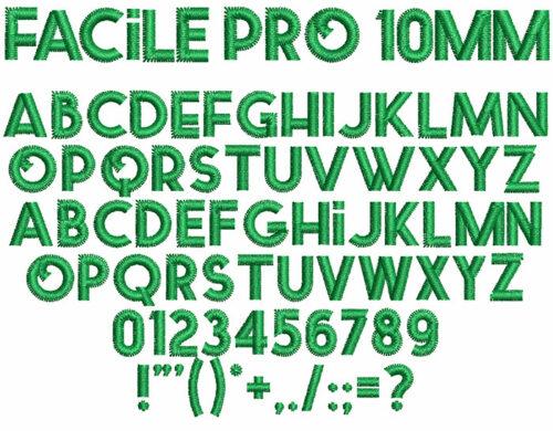 Facile pro letters icon