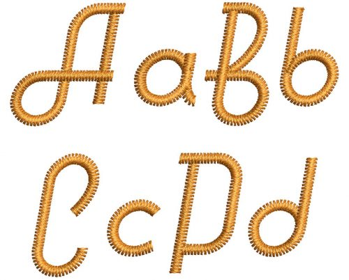 Hitchhiker 15mm Font