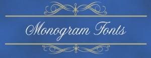 monogram fonts icon