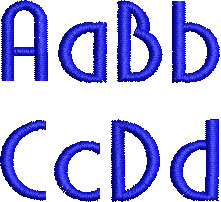 Abalaris esa font letters icon