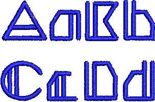 Abeline esa font letters icon