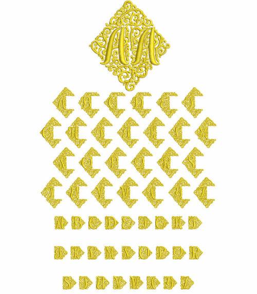 Adorn Duo Monogram