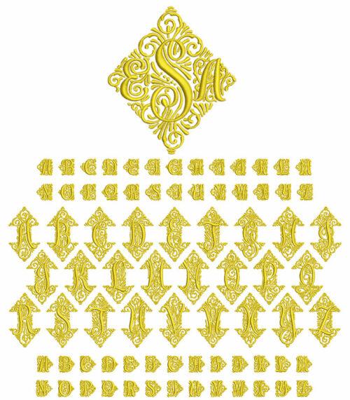 Adorn Trio Monogram
