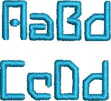 aeris esa font letters icon