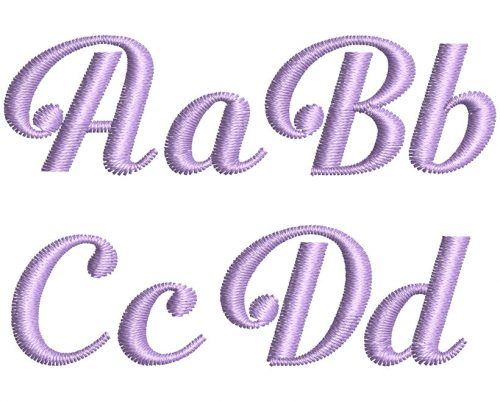 Beauford 20mm Font