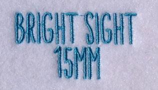 Bright Sight 15mm Font