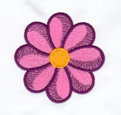 Embroidery Color Blending Example 2