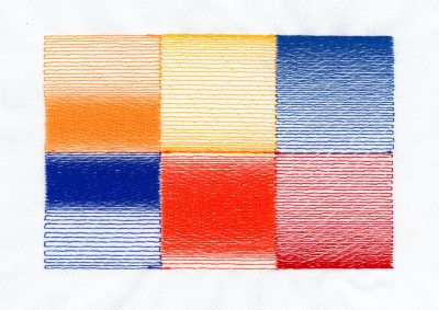 Embroidery Color Blending Example 4