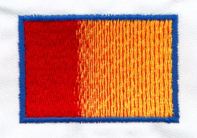 Embroidery Color Blending Example 6