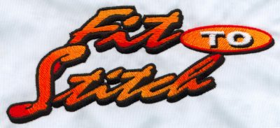 Embroidery Color Blending Example