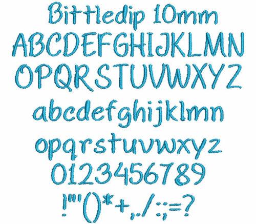 Bittledip 10mm Font
