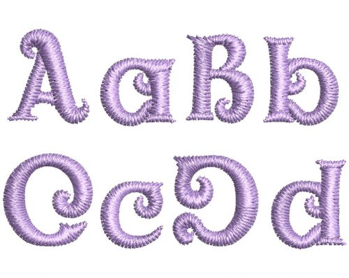 Circus Folly esa font letters icon