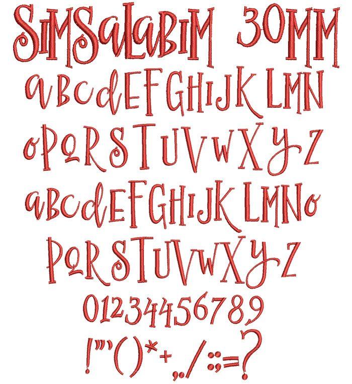 Semesta 25mm Font