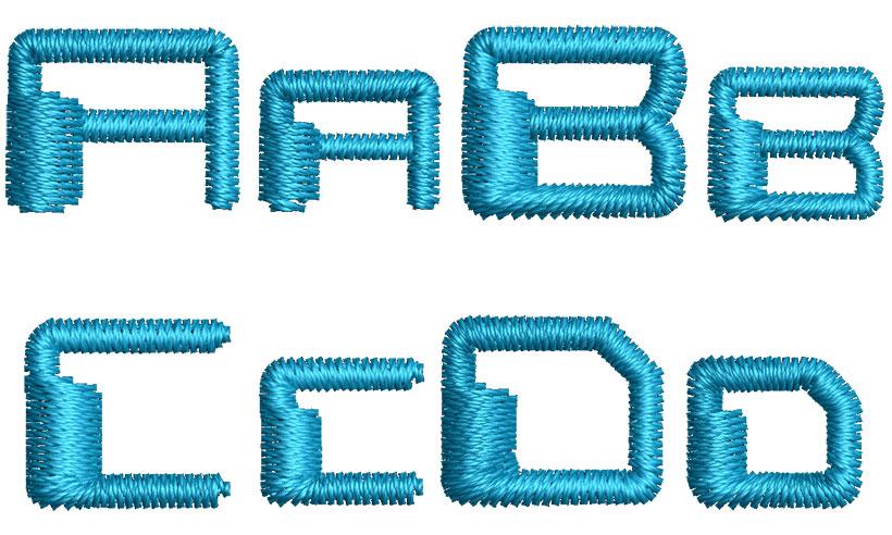Digitial end esa font letters icon