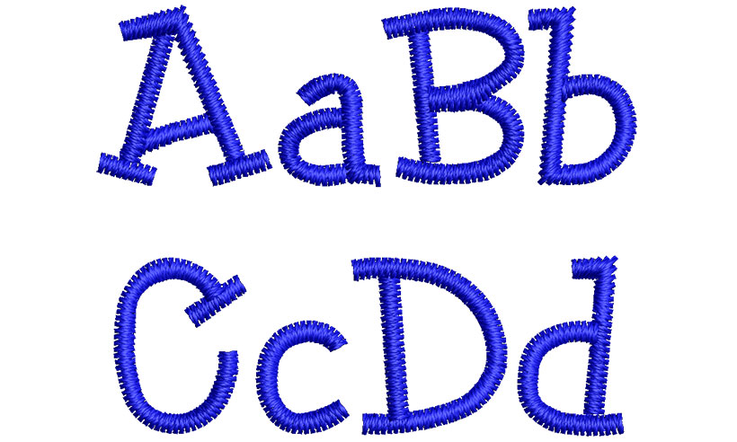 Dunkel esa font letters icon