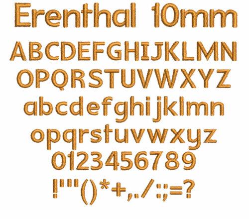 Erenthal 10mm Font
