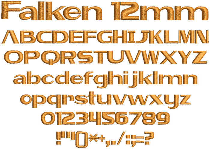 Falken 12mm Font