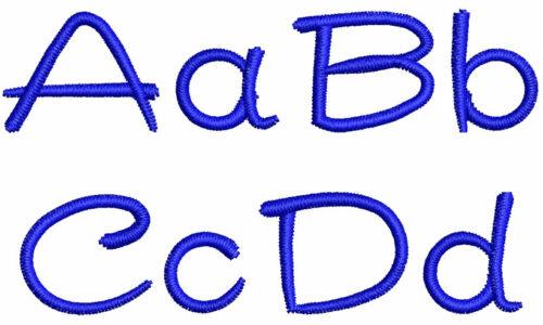 Haribu esa font letters icon