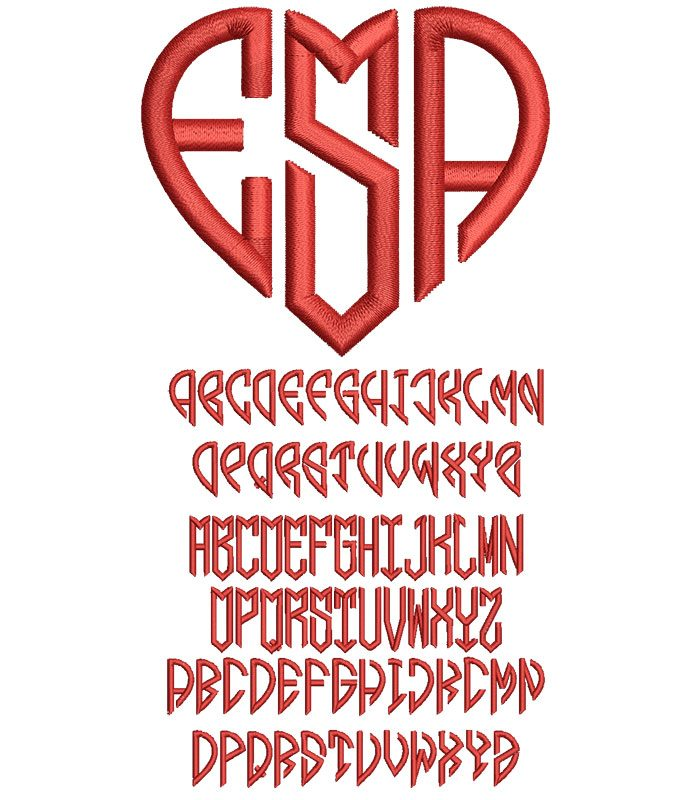 Hearts Mono