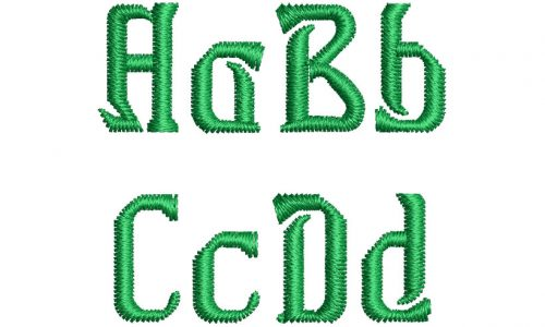 Herengale esa font letters icon