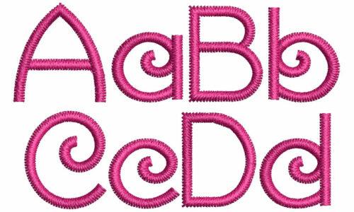 Karalonia esa font letters icon