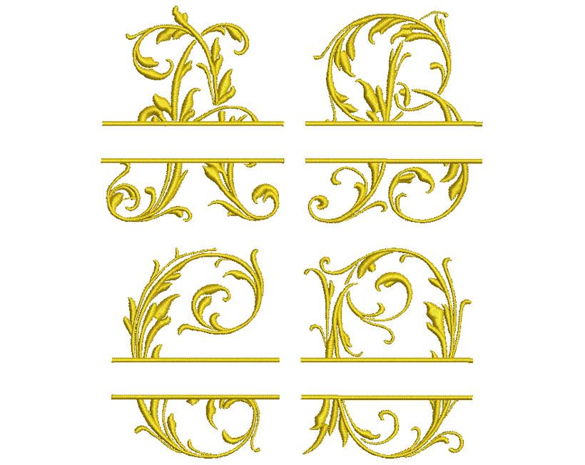 Split Mono esa font letters icon