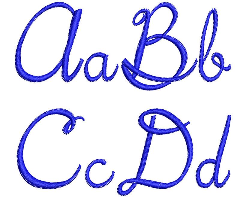 5th grade esa font letters icon