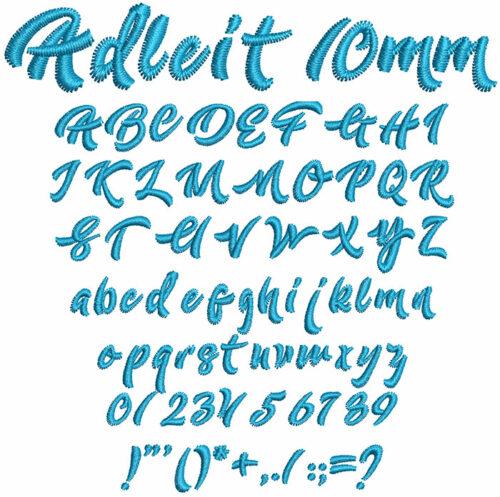 Adleit 10mm Font