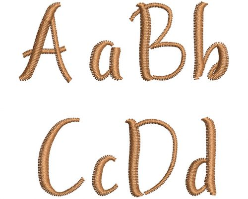 Ayunda esa font letters icon