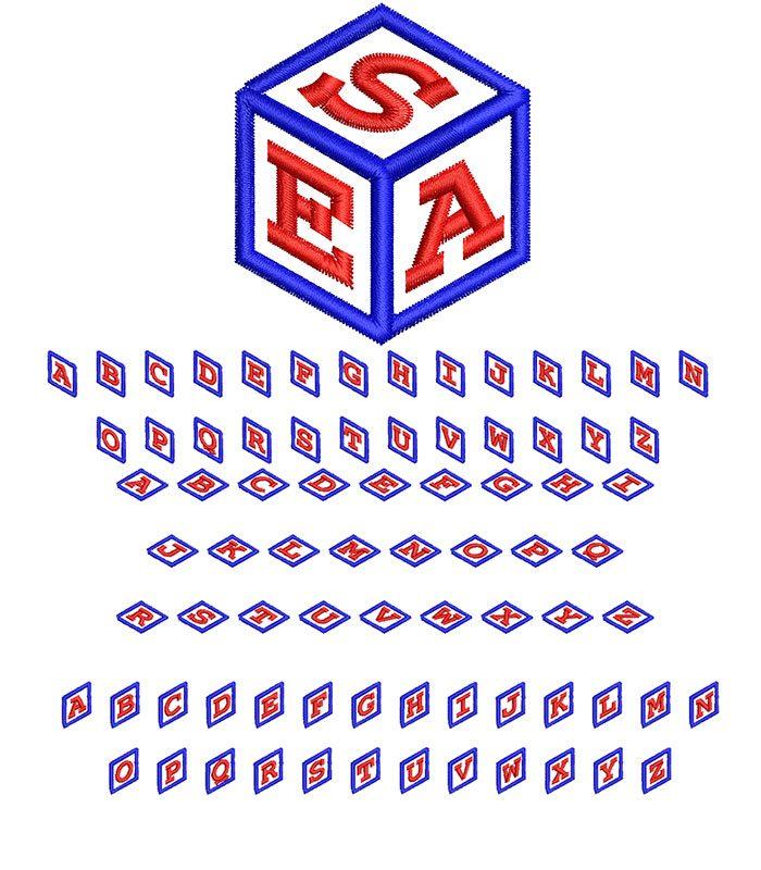 Cube Monogram