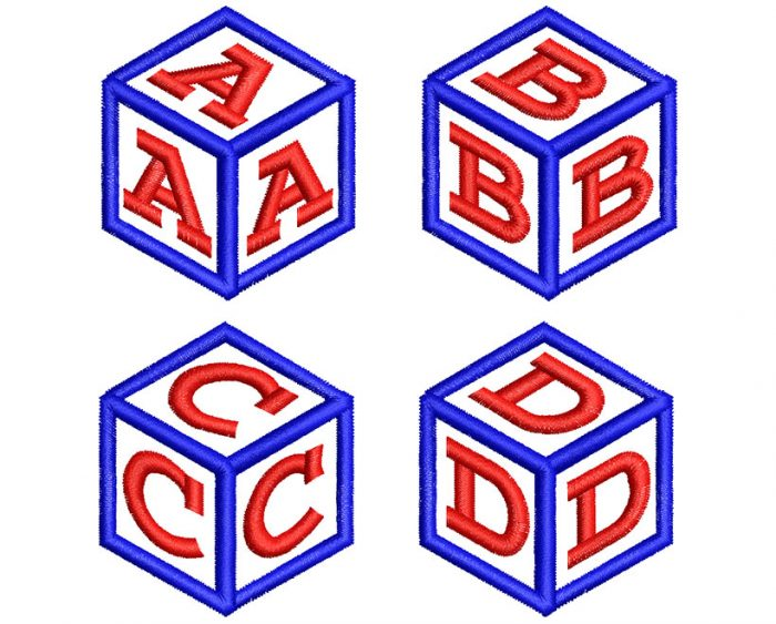 cube mono esa font letters icon