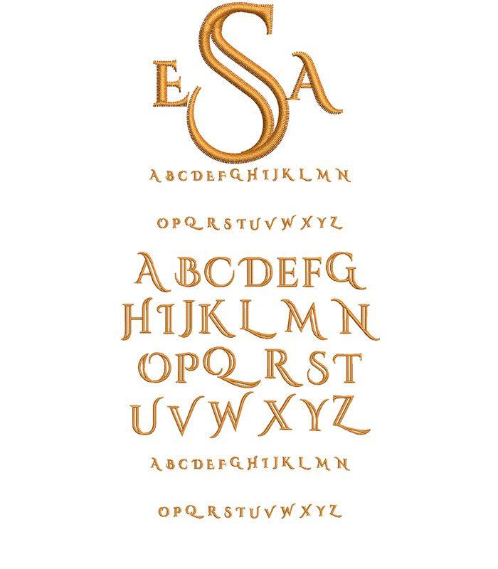 Deco Monogram