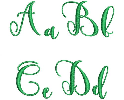 Gentle esa font letters icon