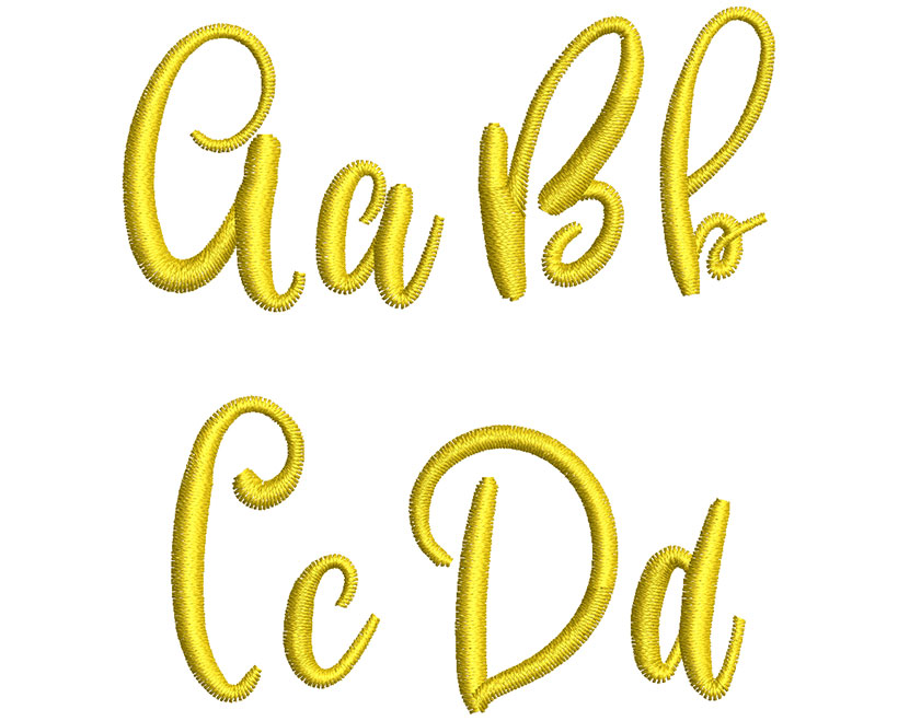 Gentle Air esa font letters icon