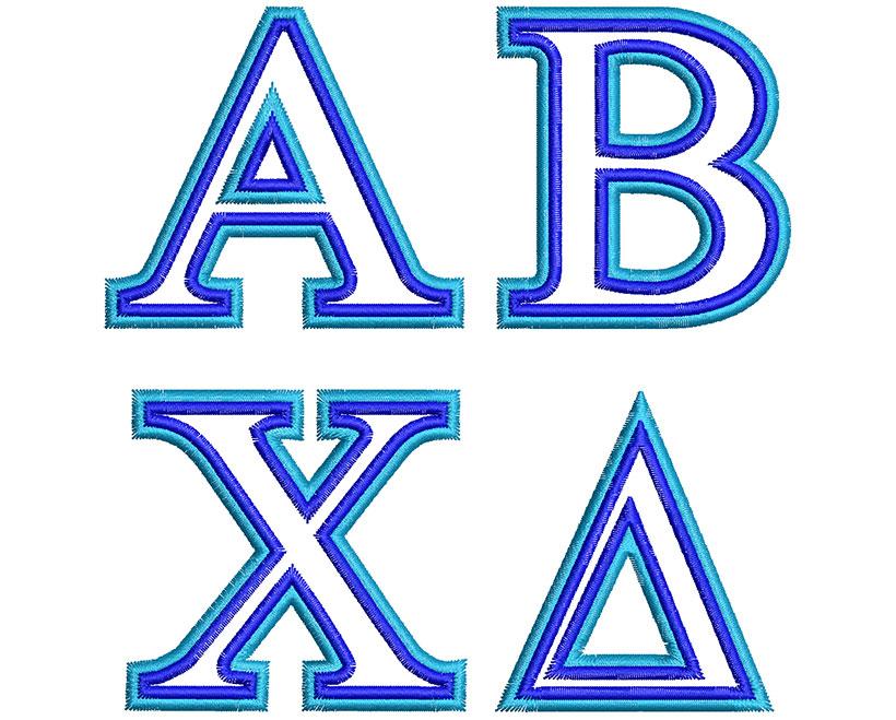 Greek esa 2 col. font letters icon