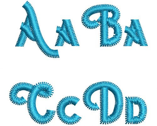 Hipster esa font letters icon