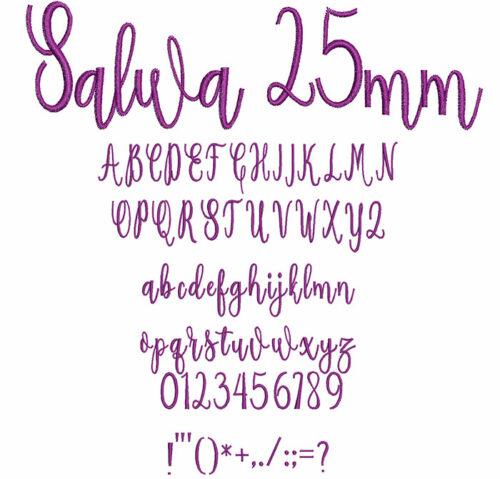 Salwa 25mm Font