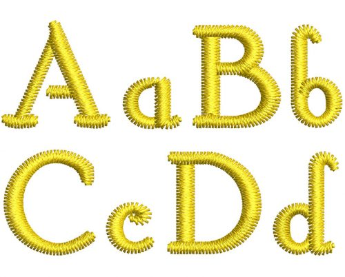 Hobby esa font letters icon