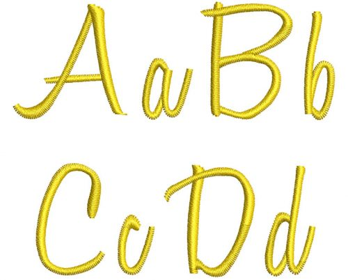 Honey Script esa font letters icon