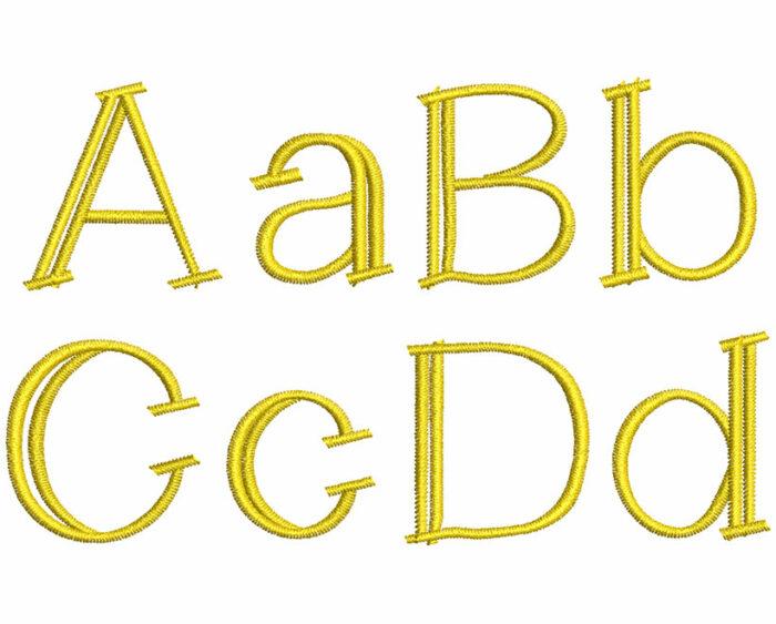 Lemon Cookie esa font letters icon